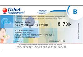 Maaltijdcheques van 7 euro